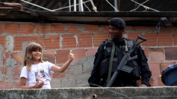 Rio: BOPE na instalaçãoo da UPP dos Macacos (Foto: Shana Reis - 2010)