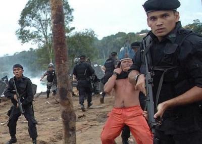 Repressão Policial em Belo Monte