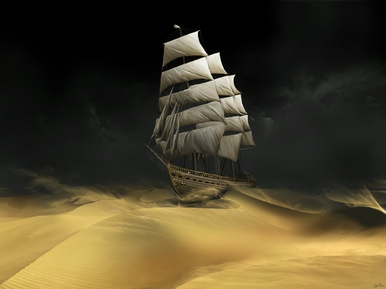 Sailing the Desert by Gate-to-Nowhere in deviant